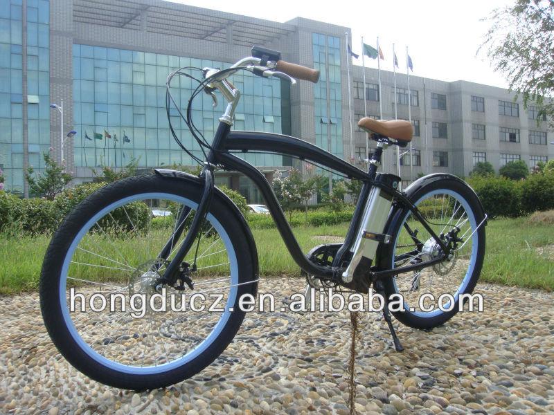 2015 Hot Sale Electric Chopper Beach Cruiser Bicycle For Sale View Chopper B