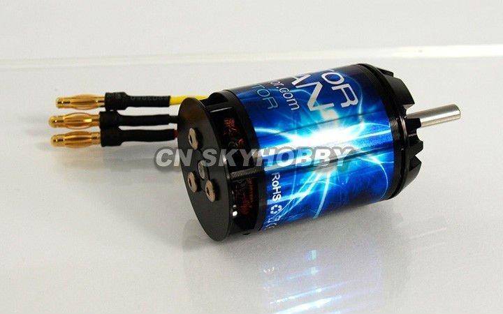 X3654 Kv1600 Rc Outrunner Brushless Motor For Rc Trex 500