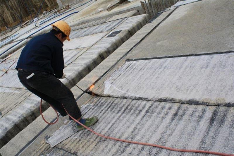 Waterproofing Detail Sheets : Sbs modified bitumen waterproof membrane finished green