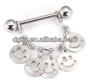 Fashion jewelry nipple stretcher body nipple ring buy for Pierced nipple stretching jewelry