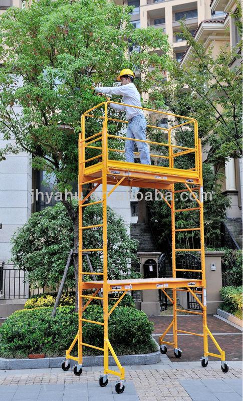 30 Foot Scaffolding : Ft high rolling baker scaffold buy