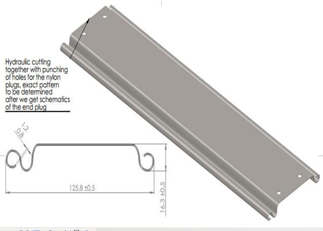 Roller shutter door roll forming machine/rolling door roll forming machine/Rolling Slat Forming