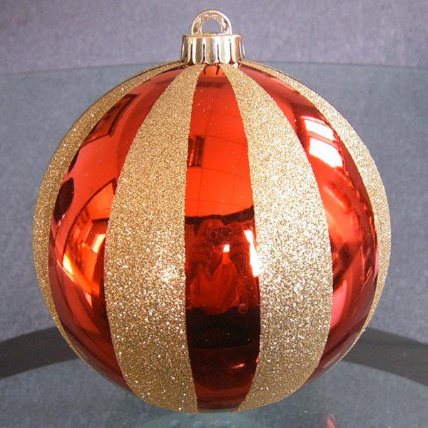 Large plastic christmas balls buy plastic christmas for Large christmas baubles for outside