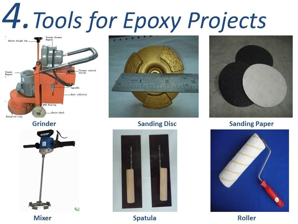 Maydos Epoxy Floor Equipment Trowel Roller Mixer Grinder