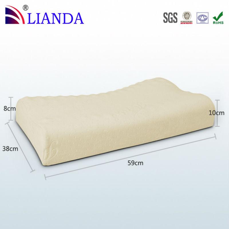 Neck Support Half Moon Massage Pillow Memory Foam Pillow