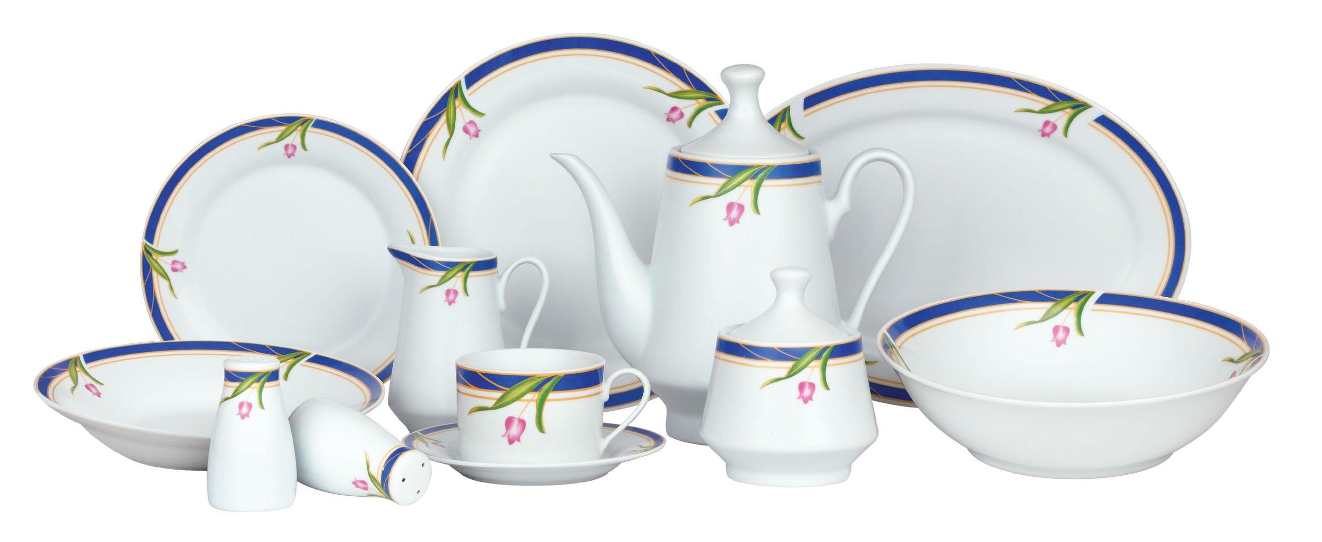 47pcs porcelain round dinnerware set crockery set buy for Place setting images