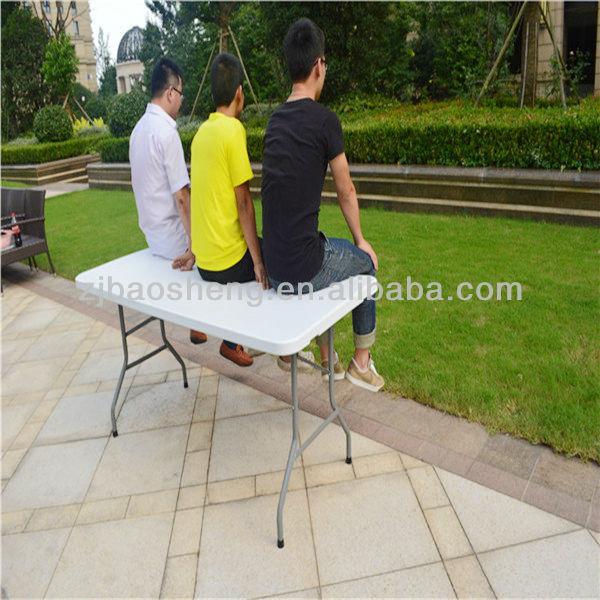 5ft Folding Table Picnic Rectangular Plactic