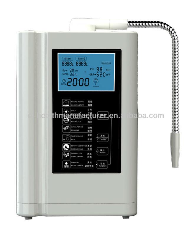 high ph water machine