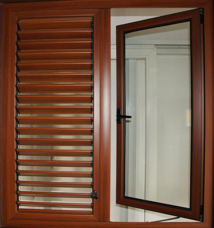 Aluminium shutters window buy shutters windows with the for Buy casement windows