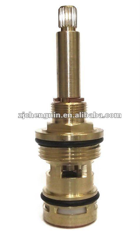 brass headwork shower diverter cartridge tap spindle