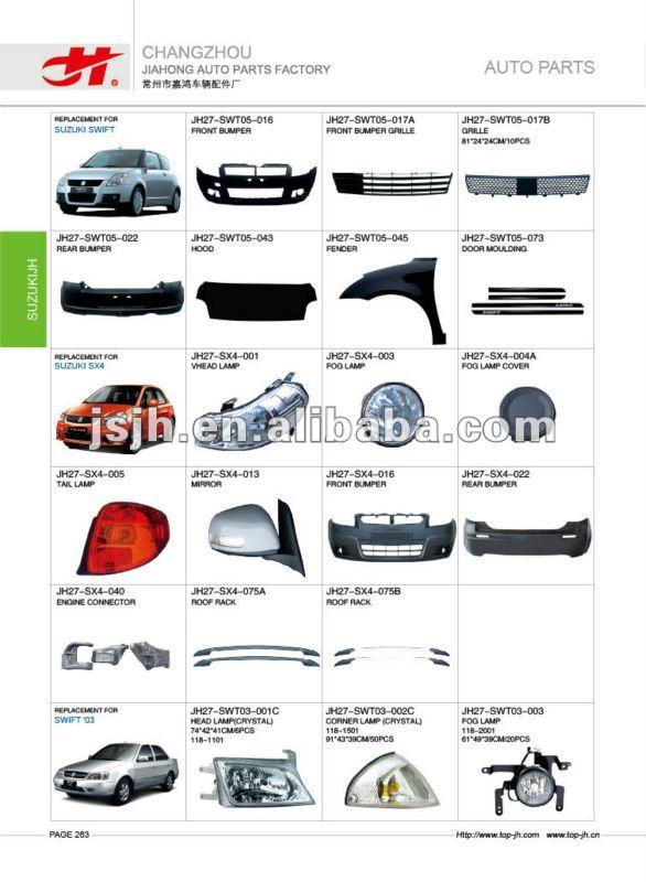 For Suzuki Swift Cultus 96 Amp Liana Spare Parts View For