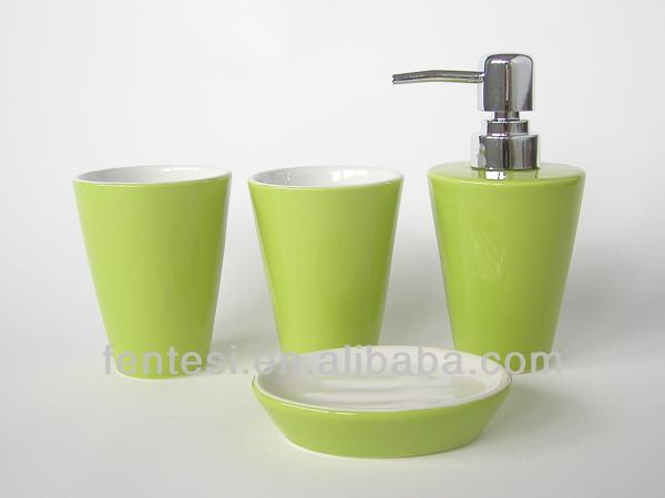 Cheap Red Ceramic Bathroom Accessories Set View Cheap Bathroom Accessories Set Synwish Product