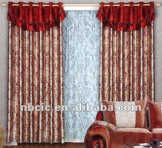 2013 Fashion New Design Latest Curtain Design For Window