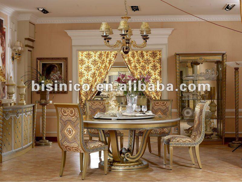 Luxury Classical Wooden Dining Room Furniture Set Mqo 1set B66007 Buy Dini