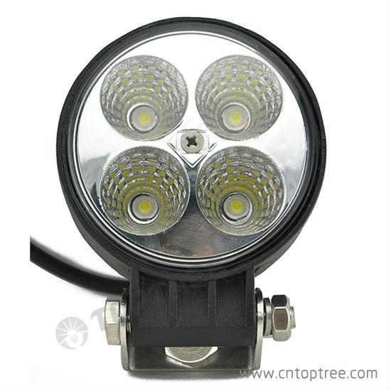12w round off road led light work light led marine flood light 12 volt view. Black Bedroom Furniture Sets. Home Design Ideas
