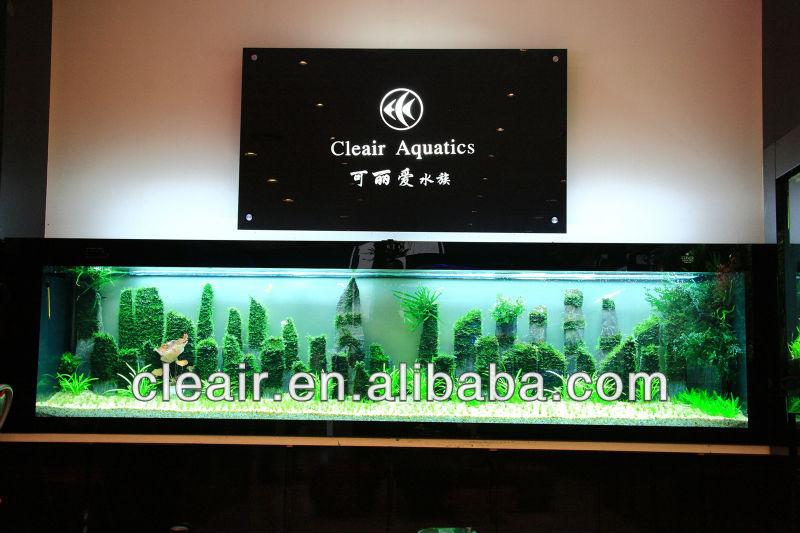 Modern and luxury acrylic fish tank view aquarium cleair for Luxury fish tanks