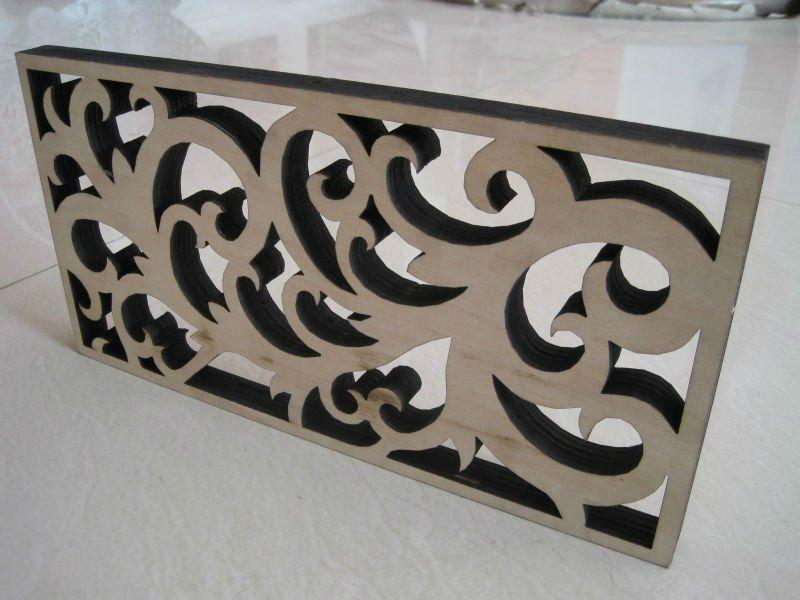 Oak Veneer Wood/mdf Cutting Engraving Laser Machinery ...