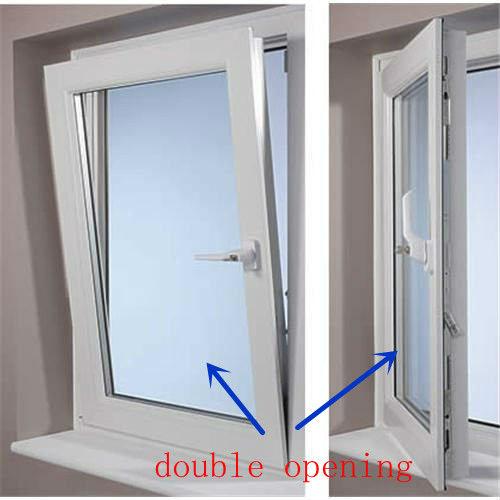 Foshan wanjia factory pvc double hung windows for sale for Buy double hung windows online