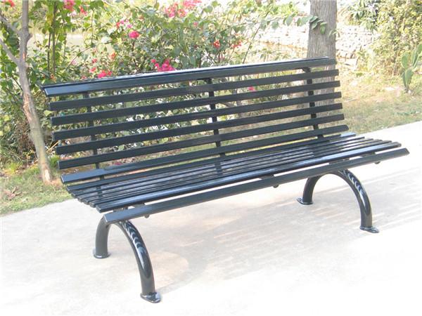 Ergonomic outdoor furniture backed iron design garden park - Panchine da esterno in ferro ...