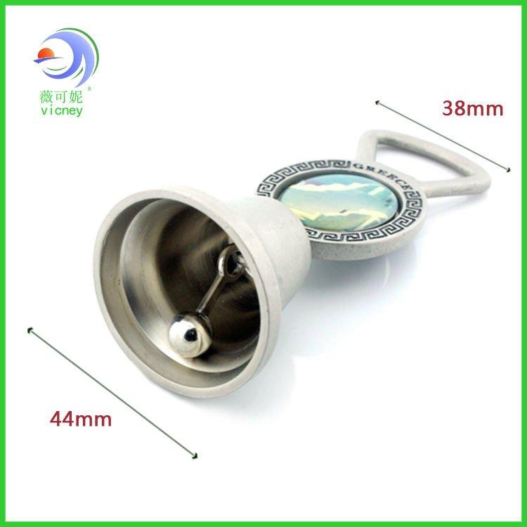 Hot design Greece cast iron metal dinner bell (LF-DB-3987)