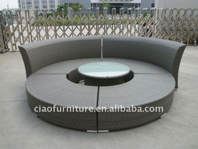 Wicker Outdoor Semi Circle Sofa Buy Semi Circle Sofa Patio Morden Rattan Furniture Wicker