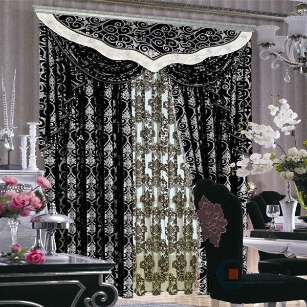 Motorized interior design ideas retractable curtain buy for Window cotton design