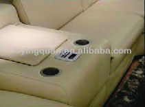 Q954 sounds system in sofa