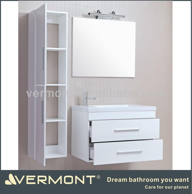 Modern mdf high end wall bathroom vanities view high end for High end bathroom vanity
