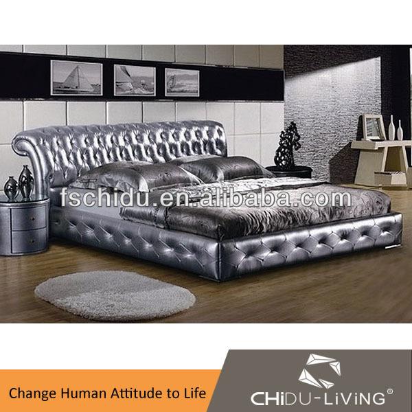 3018 high end bedroom furniture bed exotic luxury bed room for Exotic king size bedroom sets