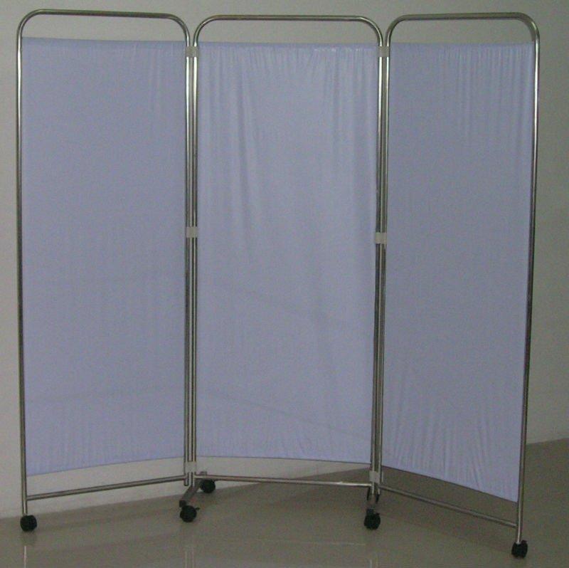 Folding Doors Room Dividers Hospital Bed Screen Curtain