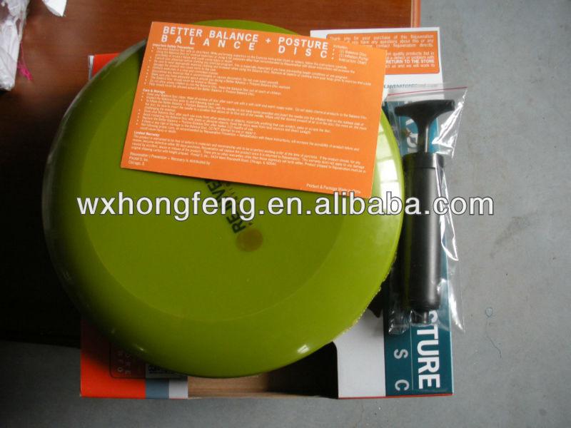 massage balance seat air cushion, fitness balance disc exercises