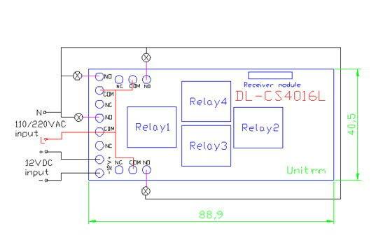 4 channel wireless remote control 12v toggle switch view 12v wiring diagram 4 channel wireless remote control 12v toggle switch