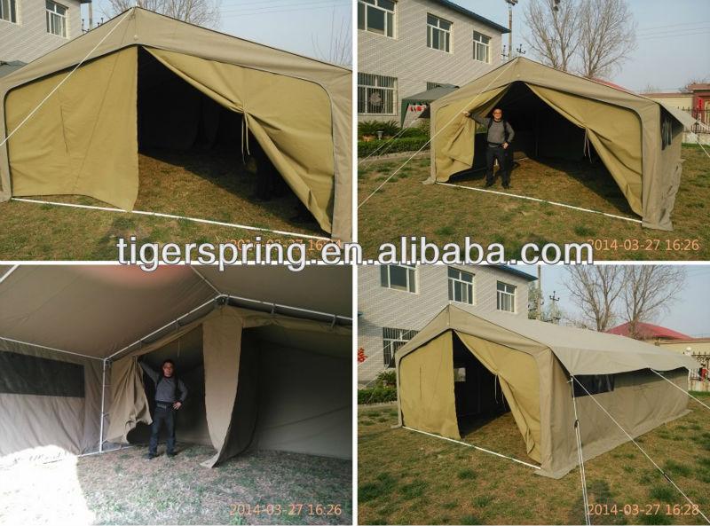 Comfortable semi permanent tarpaulin canvas tent buy for Semi permanent tent