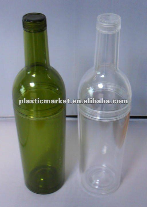 Plastic wine bottle buy empty plastic bottles unique for Empty mini plastic wine bottles