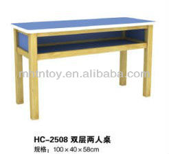 2014 kids wooden school furniture for children classroom wooden table and chair