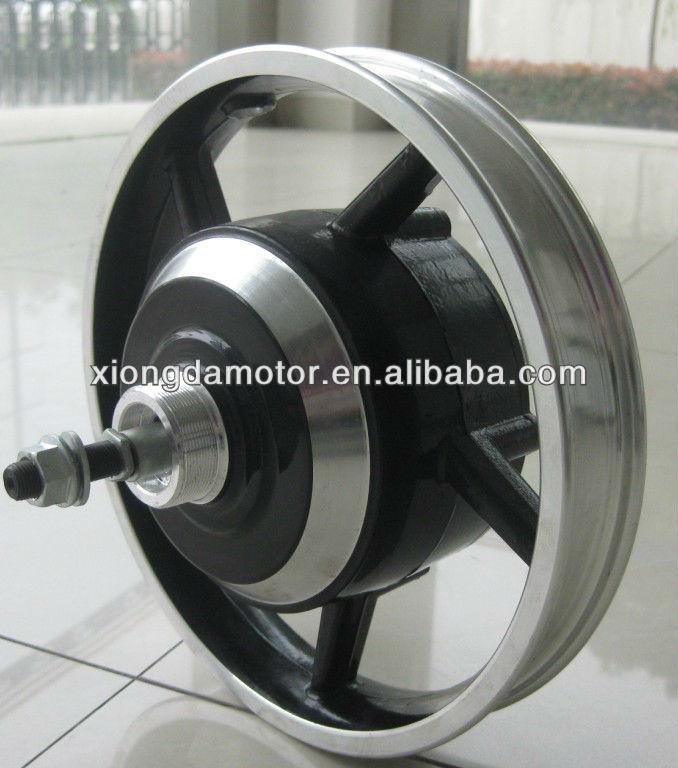 High Speed Brushless Electric Bicycle Motor/E-bicycle Brushless Integrated Wheel Hub Motor