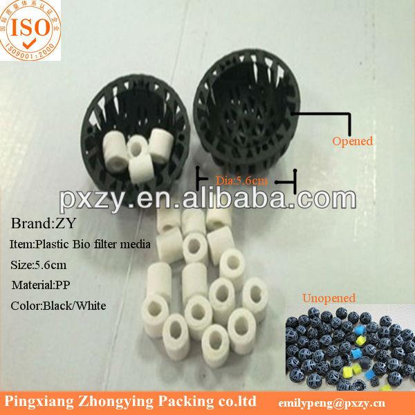 Black color aquarium bio balls plastic bio media for for Diy bio balls