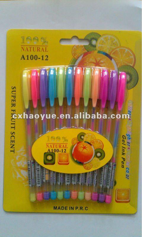 Gel pens that write on black paper