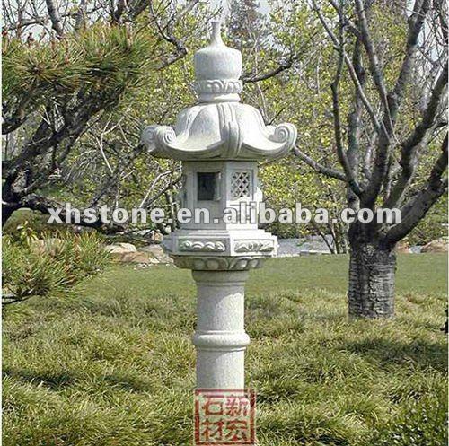 natural stone hand carved garden lantern sculpture japanese stone ...