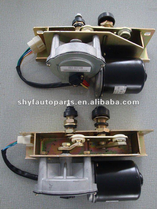 Dc gear wiper motor 12v wiper motors 60w 48nm for Dc gear motor specifications