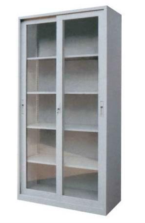 sliding glass door cabinet/metal file cabinet/metal storage ...