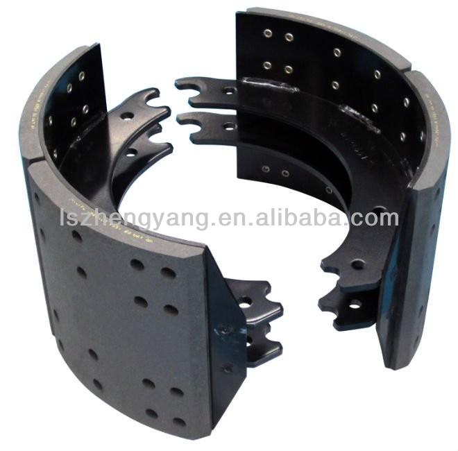 Semi Truck Brake Lining : Heavy duty semi trailer brake pads germany axle