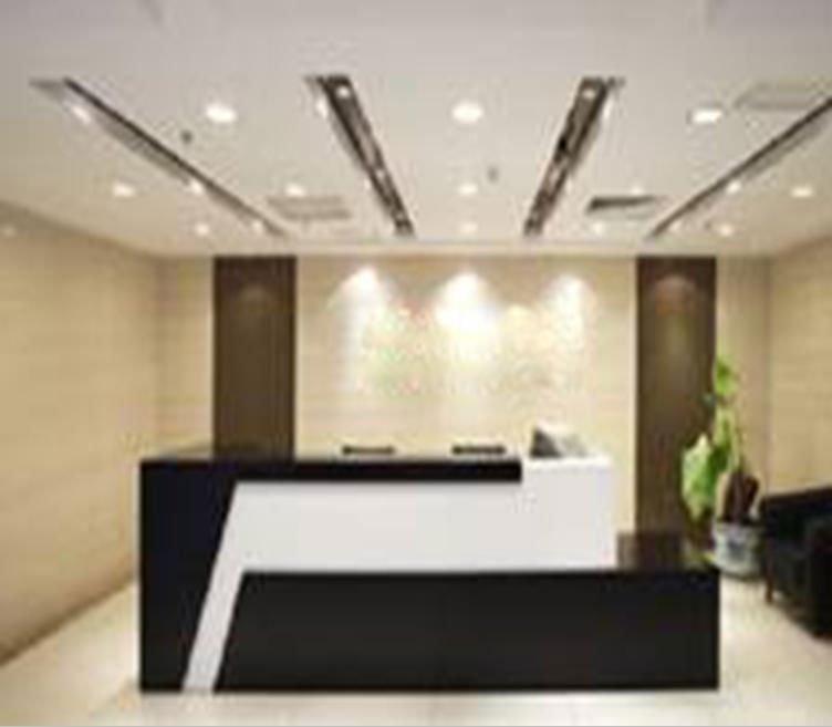 Top China Manufacturer Wooden Rectangular Reception Desk