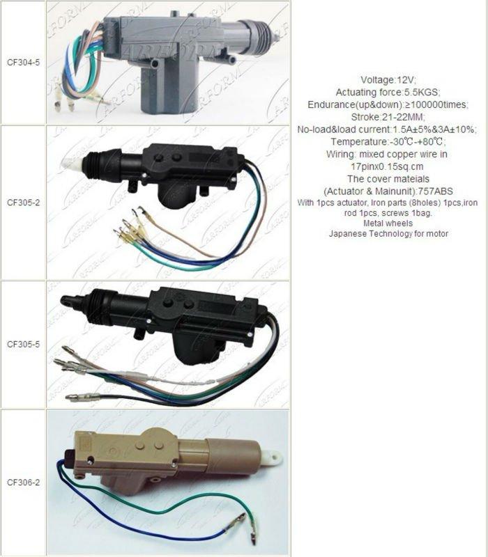 High quality car power door lock actuator buy car door for 12v door lock actuator