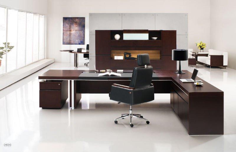 china manufactuter modern office chairman writing desk ceo