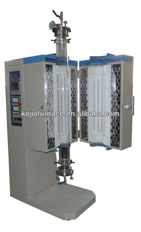 1200c Lab Split Vertical Tube Furnace Fluidized Bed