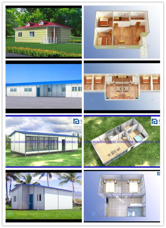 Better Insulation Fireproof Concrete Prefab House Kit