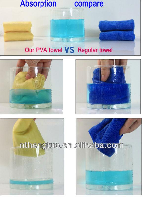 Pva Cooling Towel Sports Towel Pva Absorbent Cloth Dry