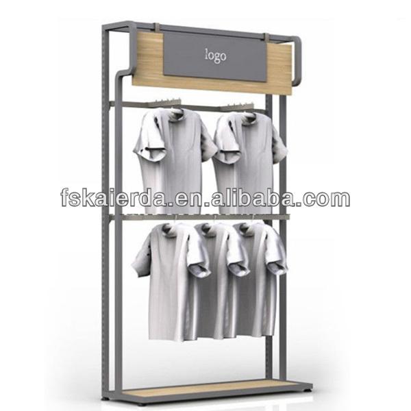 Retail Metal Portable T Shirt Floor Display Stand Buy