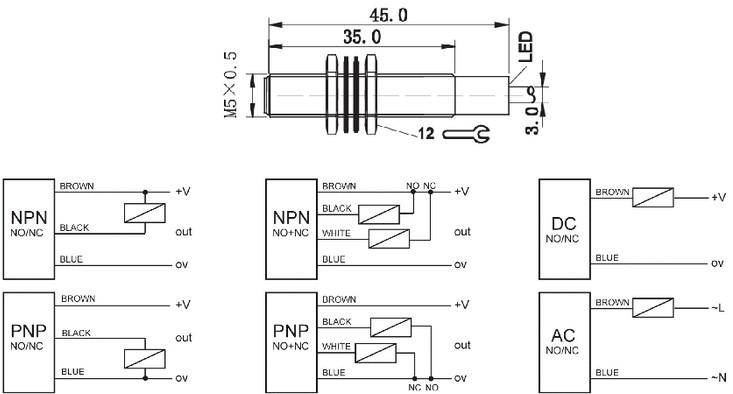 calt capacitance small proximity sensor m5 view proximity sensor calt product details from